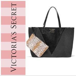 Victoria's Secret • Black Tote w/Pouch